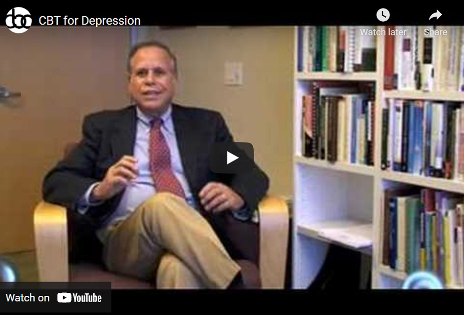 Image of CBT for Depression click to see video