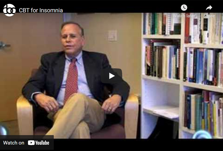 Image of CBT for Insomnia click to see video