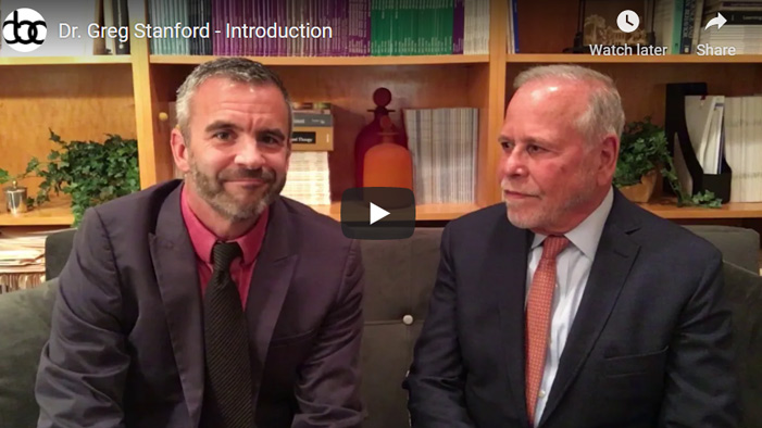 Image of Dr. Greg Stanford - Introduction click to see video